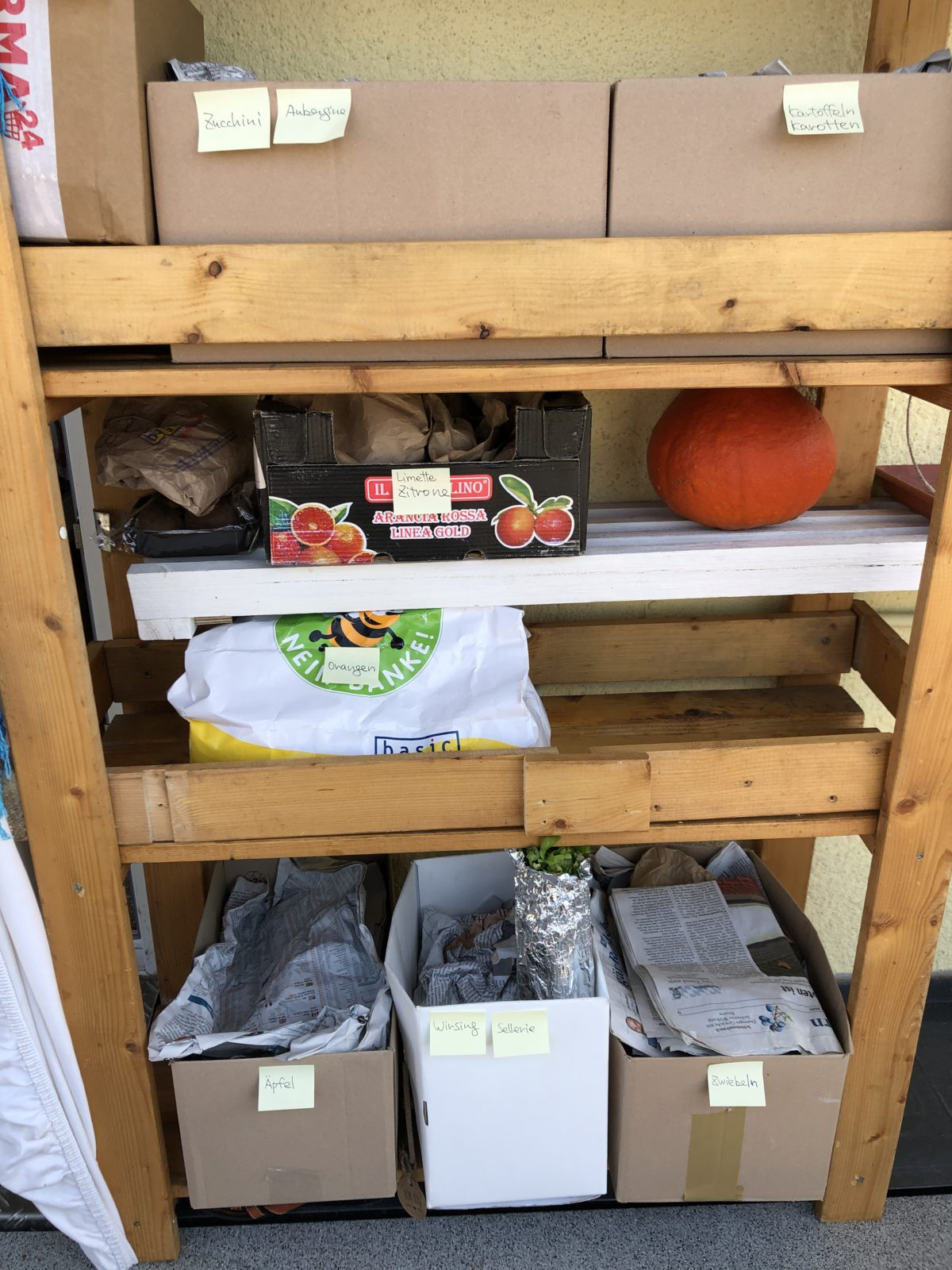野菜保存棚