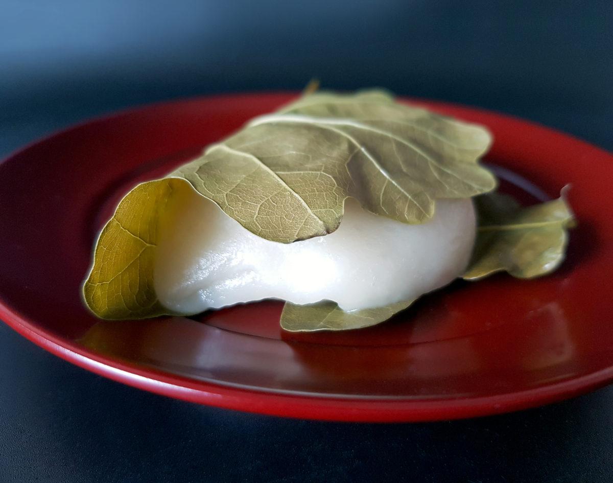 オーク(Eiche)の葉で柏餅