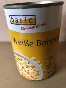 ドイツの白インゲン豆缶詰