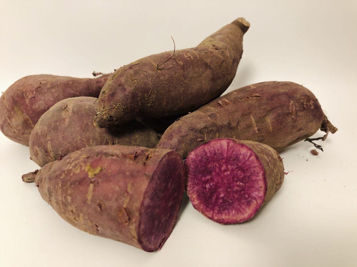 ドイツで買うさつま芋‐続編 紫さつま芋
