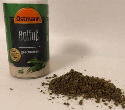 ドイツ市販の乾燥よもぎ(Beifuß-Gewürz)