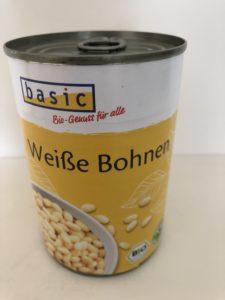 缶詰の豆(weiße bohnen)で作る白あん